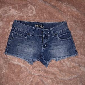 Medium Wash Summer Shorts